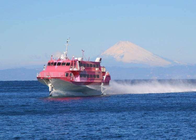 外国人に人気の体験施設TOP5!東京の離島に行ける高速ジェット船の魅力とは?
