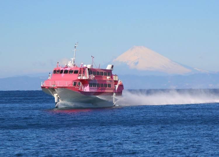 #1. Tokai Kisen Co., Ltd.: Riding the Popular Jet Ferry!