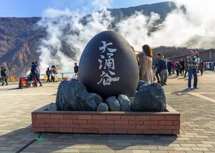 箱根各區攻略⑦氣勢滂薄的絕景景點「大涌谷」