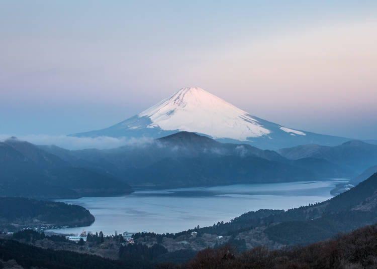 箱根的冬天:眺望富士山美景絕佳季節!白雪與純淨空氣來臨