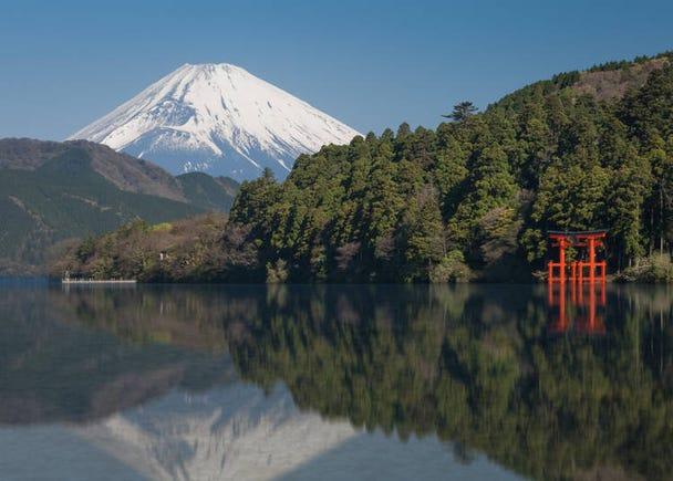 이유 14: 일본의 상징 '후지산'의 아름다운 모습을 감상할 수 있다