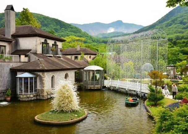 箱根必訪的理由⑤:聚集國內外多間風格獨特、豐富多彩的美術館