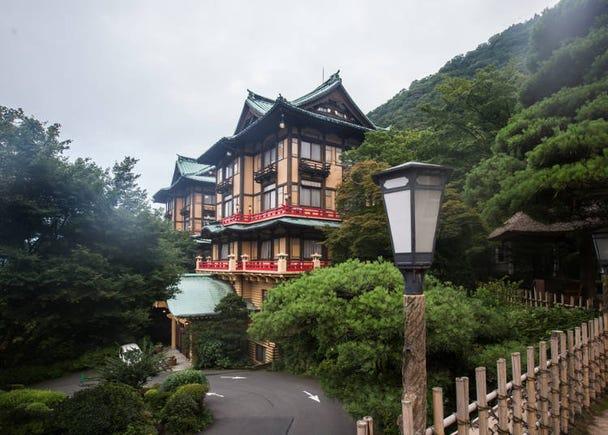箱根必訪的理由⑥:遇見從18世紀留存下來的昔日懷舊面貌