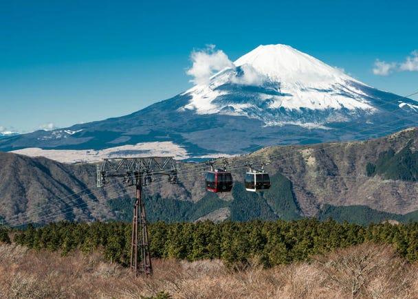 箱根必訪的理由⑪:能夠搭乘各種交通工具欣賞絕佳美景