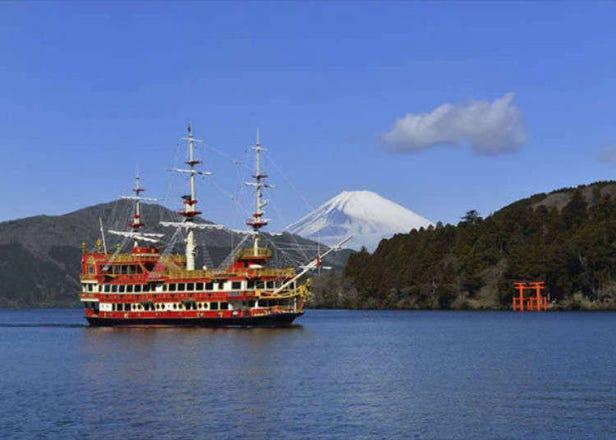 箱根の日帰り観光おすすめコースはこれだ! 定番パワースポットから名物グルメ&無料足湯まで