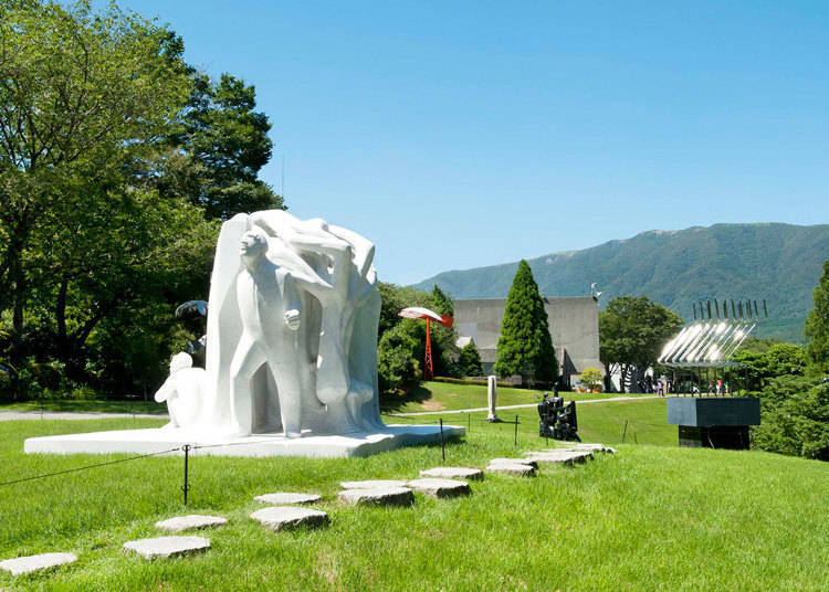 ■An outdoor museum with a plethora of artworks: The Hakone Open-Air Museum