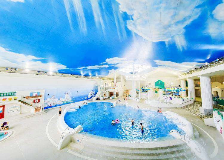 穿泳衣泡汤也OK? !适合外国旅客前往的箱根超人气温泉设施三选