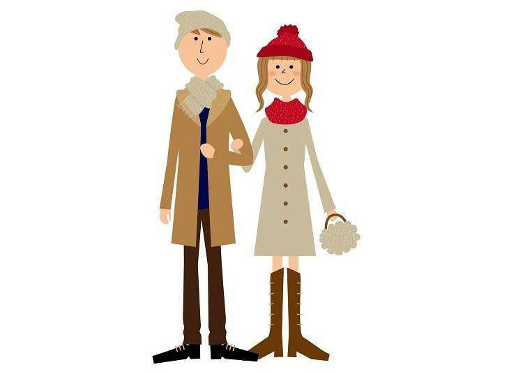 ●箱根冬天時的推薦服裝(12~2月)
