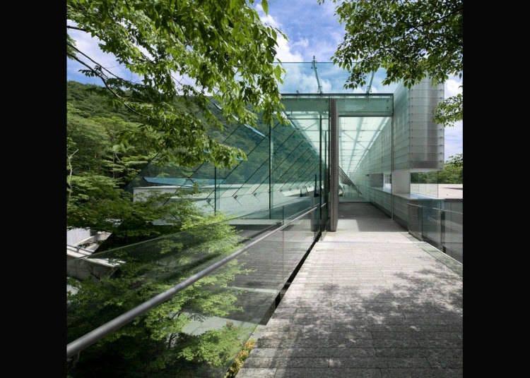■在箱根大自然中与艺术来场约会「POLA美术馆」、「箱根玻璃之森美术馆」