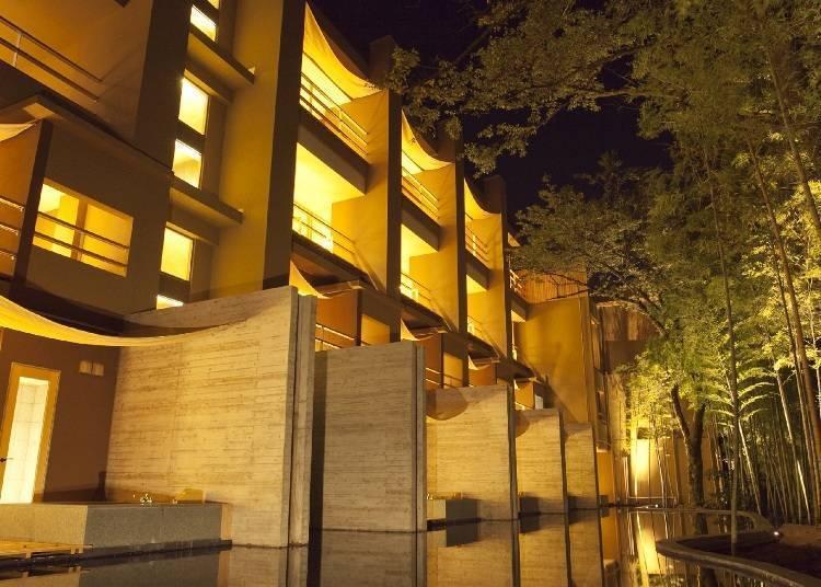 绿意围绕的隐密旅宿!最适合成年人享受的高级奢华住宿设施「金乃竹 塔泽」