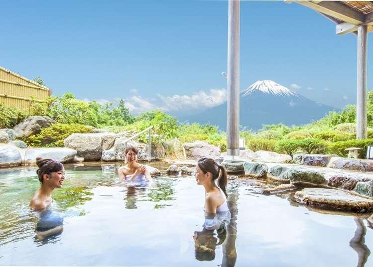 箱根溫泉旅館4選:富士山絕景露天溫泉、提供和服&茶道體驗等