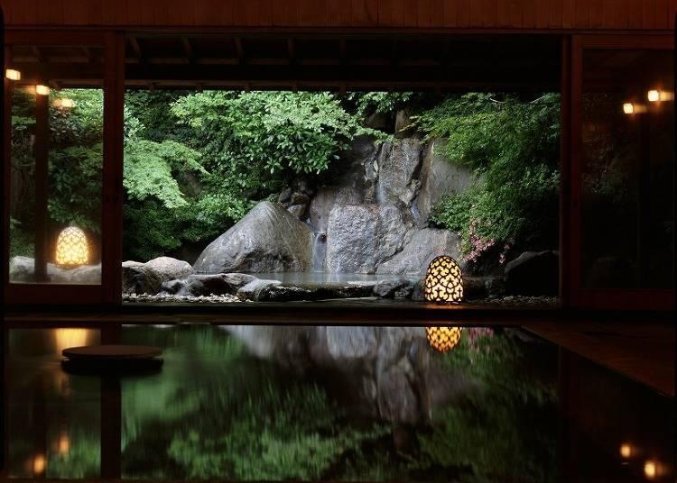 箱根溫泉旅館①世界公認!美麗日式建築&露天溫泉「強羅花壇」