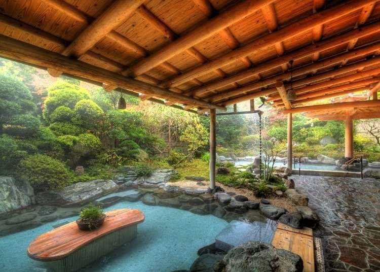 하코네에서 온천을 가려면 이곳! 하코네 유모토역 근처 온천 3곳