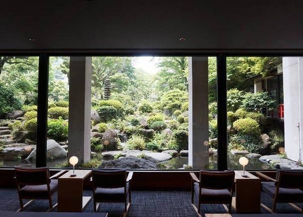 坐拥万坪日本庭园的温泉旅宿-「吉池旅馆」