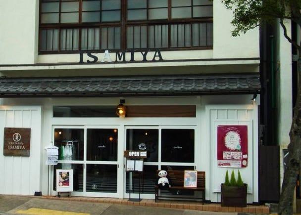 ■品嚐使用箱根名水豆腐製作出來的人氣豆腐甜點「craft&cafe ISAMIYA」
