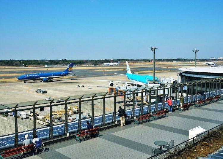 近距离欣赏飞机起降的大好机会!成田机场展望台&参观平台
