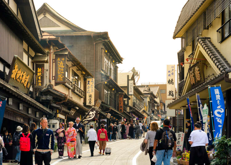 Best Sightseeing Spots Around the Narita Area: For Pre or Post-Flight Shopping Strolls!