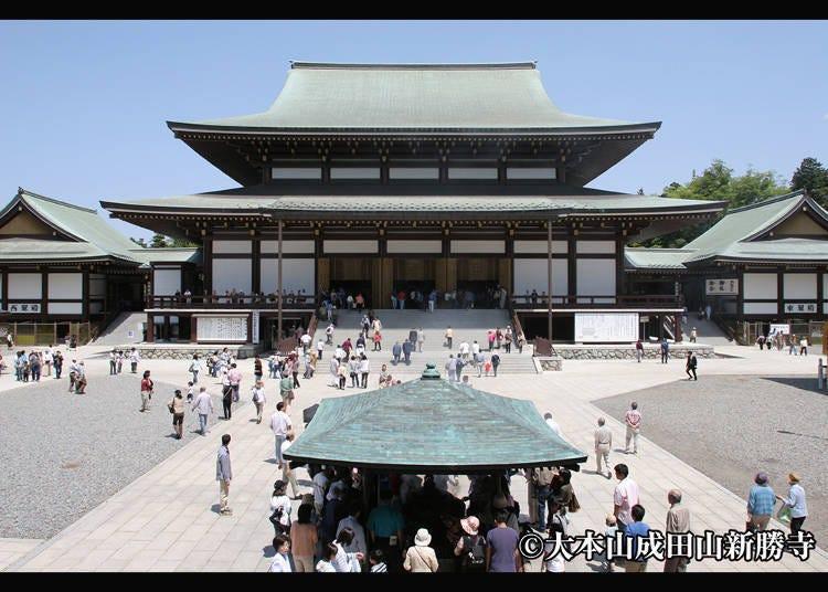 ■Visiting Naritasan Shinshoji Temple