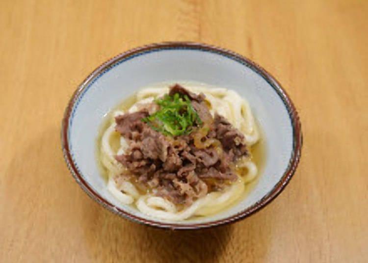 手軽に本格的な茹でたてうどんを食べるなら「杵屋麦丸」(第一ターミナル)