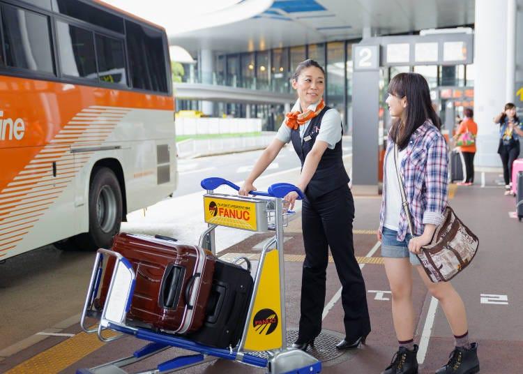 成田国際空港から高速バスは何分間隔で走っている?