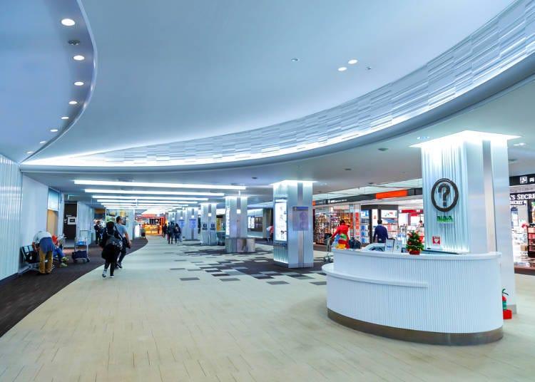 ร้านสินค้าปลอดภาษีอยู่ที่ไหนในสนามบินนาริตะ?