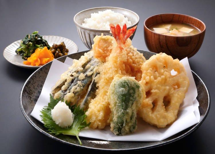 食事にハズレがない、何よりお米がおいしい!