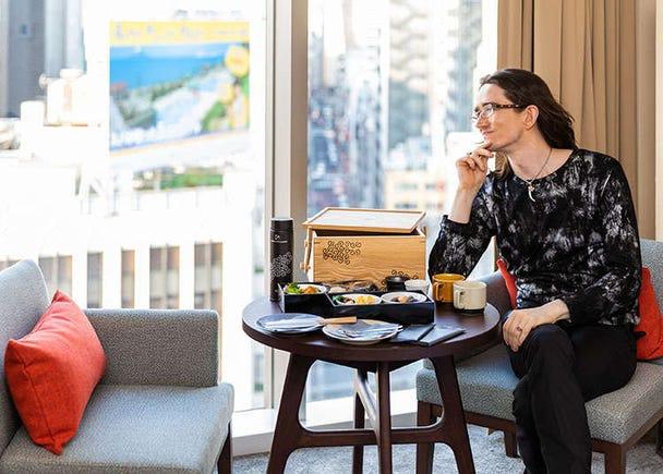 以「karaksa hotel premier東京銀座」作為你時尚銀座之旅的探索基地!