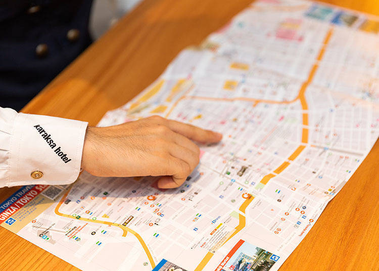 Discover Ginza Your Way