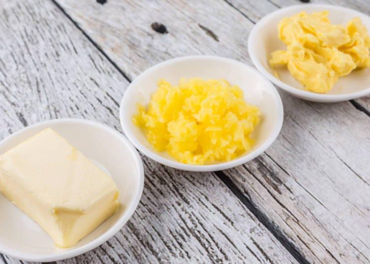 ■「バター」と「マーガリン」、「ファットスプレッド」の違い