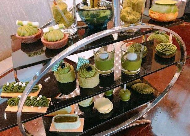 抹茶スイーツ25種類が食べ放題!リッチな空間で贅沢抹茶づくしはいかが?