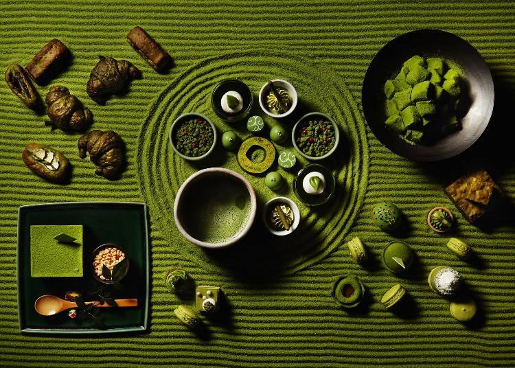 その他ホテル内全7店舗で「抹茶コレクション」が開催中