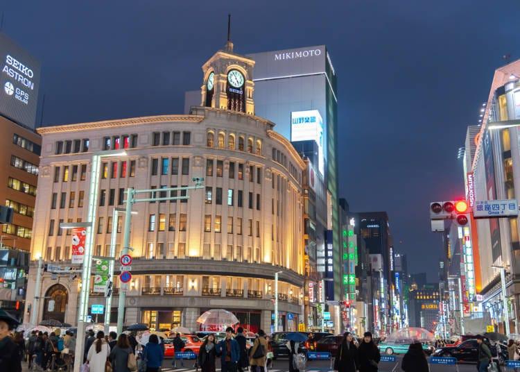 도쿄의 고층 빌딩의 경치는 아름답다!