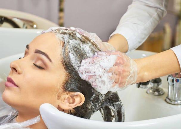 タダで何度も髪を洗ってくれるなんて…!