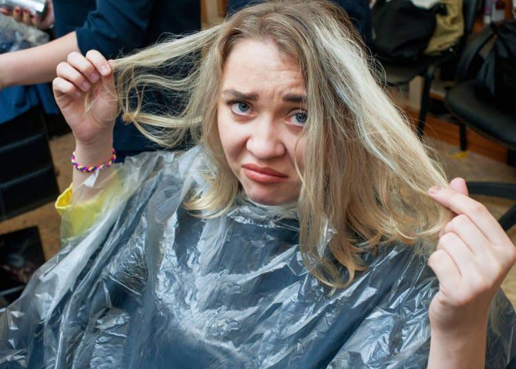 ニュアンスが通じず変な髪型になって残念…