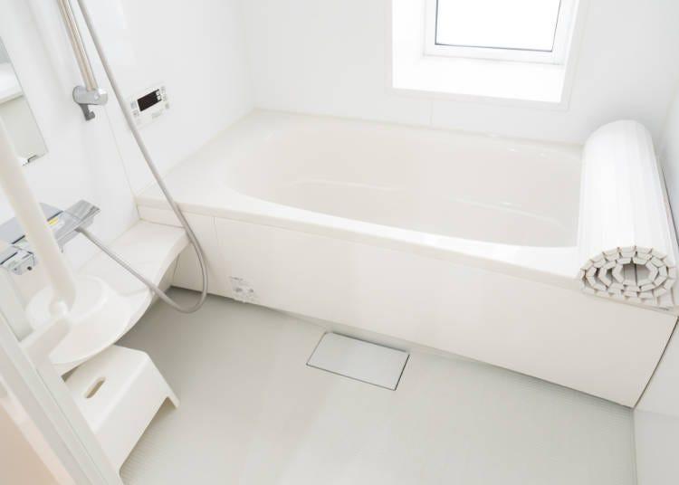 回数とか洗い場とか、お風呂の習慣がだいぶ違う!
