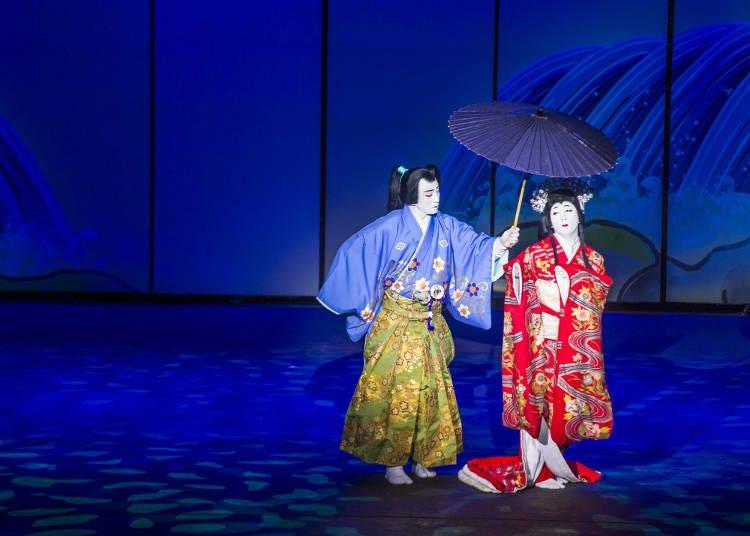 日本ならではのさまざまな舞台が楽しめる「国立劇場」