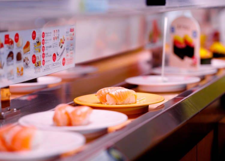 回転寿司が進化してる!やっぱり日本ってスゴイ!