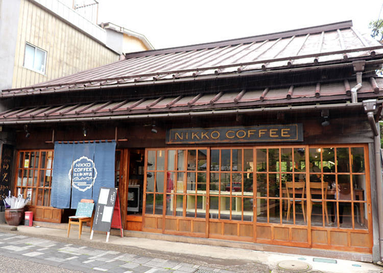 1. Nikko Coffee Goyoteidori: Rest and relax in a traditional folk house