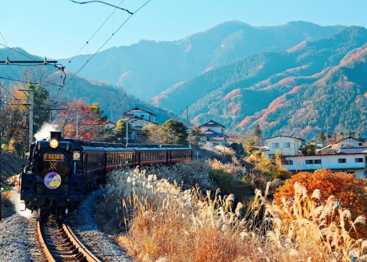 铁道迷必访!能搭乘SL蒸汽火车的秩父铁道