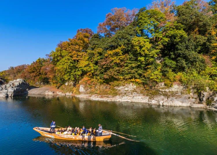 自然丰富、山河环绕的秩父