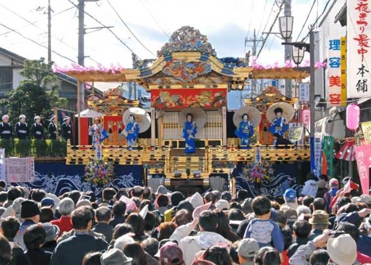 ■独特のスタイルが珍しい「屋台歌舞伎」(2020年は中止)