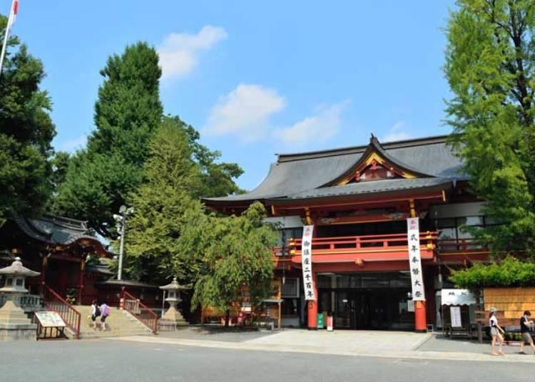 ■'치치부 요마츠리'의 역사는 고대로 거슬러 올라가
