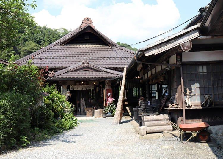 ■「きのこの里 鈴加園」の石器焼料理