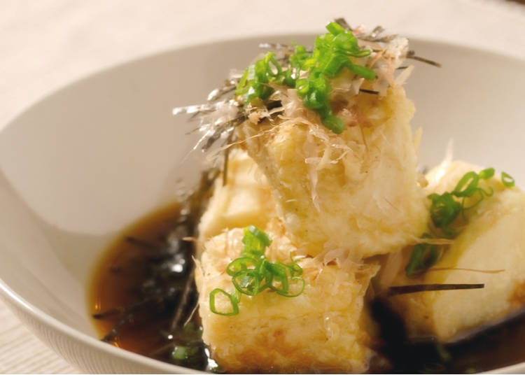 """2. """"Fried tofu"""" - A gentle taste loved by foreigners?"""