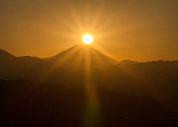 【理由6】富士山が見えることもある絶景が広がる