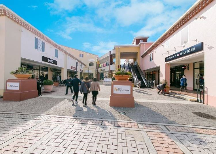 Visit Mitsui Outlet Park Tama Minami Osawa directly from Shinjuku for all your shopping needs