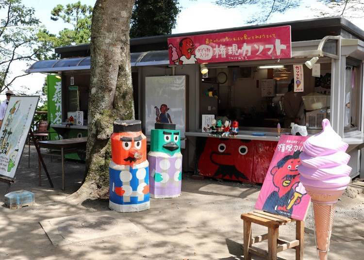 ■Tengu no Jukkokuri Dango: Available right within the famed Takaosan Yakuo-in shrine