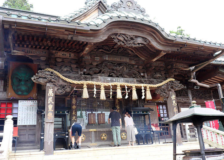 The central power spot of Mt. Takao is the Great Main Hall