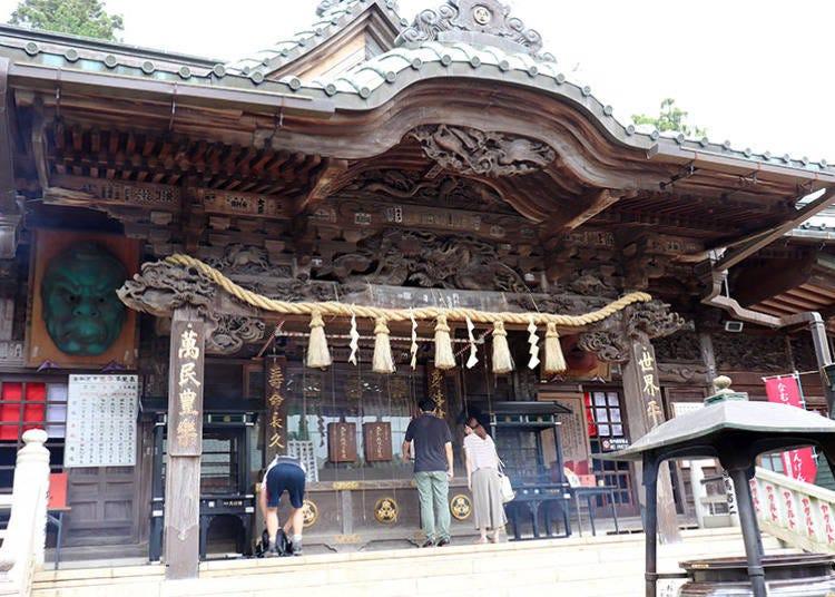 ■高尾山パワースポットの中心「大本堂」