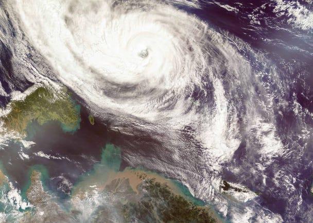 日本の自然災害「台風」